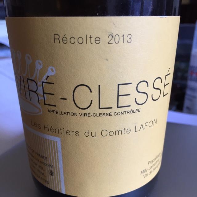 Viré-Clessé Chardonnay 2013