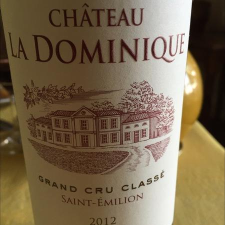 Château La Dominique Saint-Émilion Red Bordeaux Blend 2012