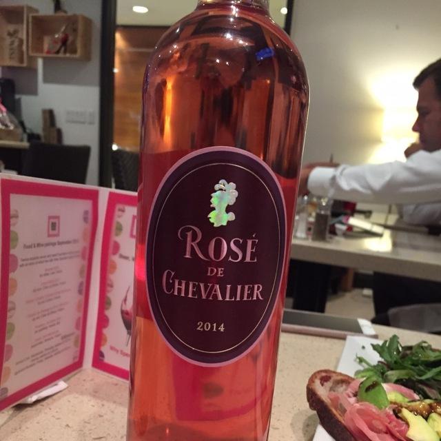 Rosé de Chevalier 2015