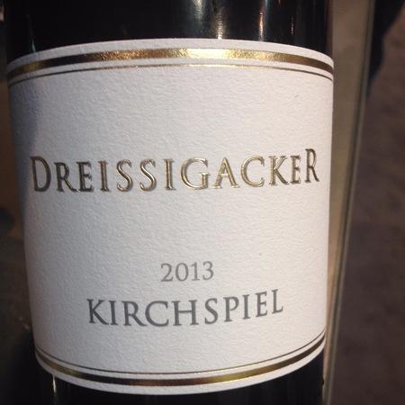 Weingut Dreissigacker Kirchspiel Riesling 2013
