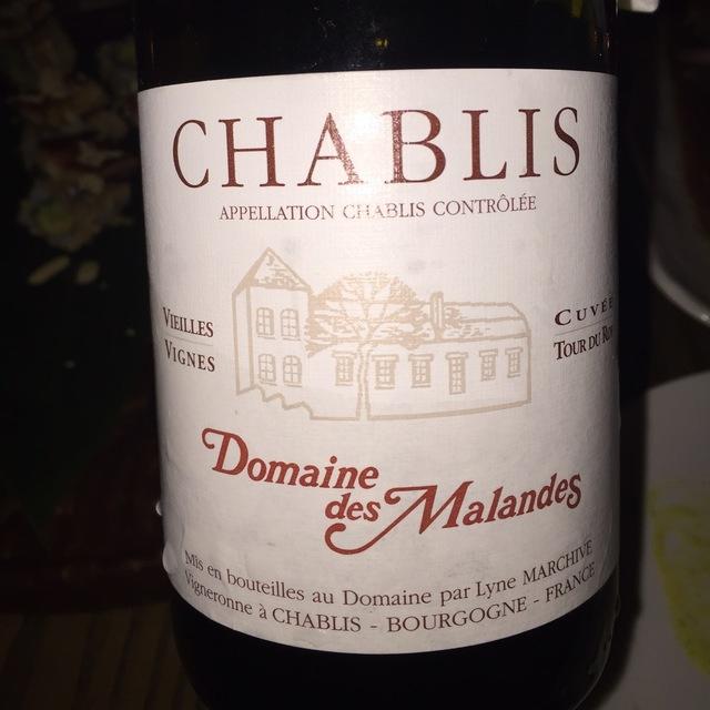 Cuvée Tour du Roy Vieilles Vignes Chablis Chardonnay 2014