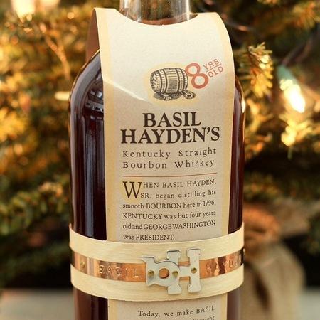 Kentucky Springs Distilling Company Basil Hayden's Aged 8 Years Kentucky Straight Bourbon Whiskey NV