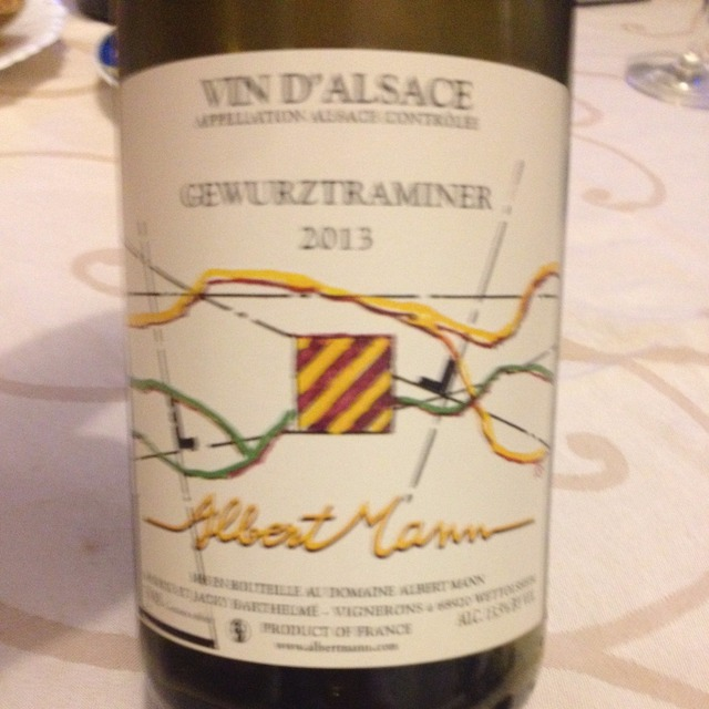 Alsace Gewürztraminer 2013