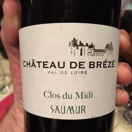 Château de Brézé Clos du Midi Saumur Chenin Blanc 2014