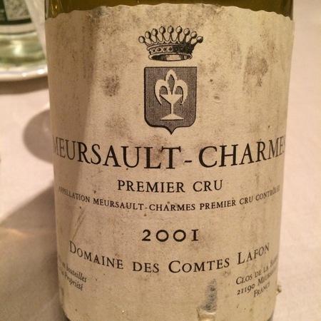 Domaine des Comtes Lafon Meursault-Charmes 1er Cru Chardonnay 2001