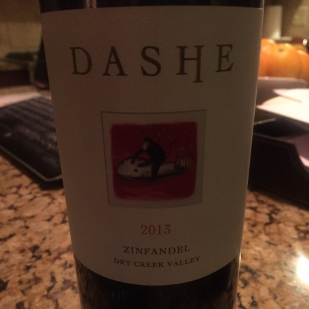 Dashe Cellars Todd Brothers Ranch Old Vines Zinfandel 2013
