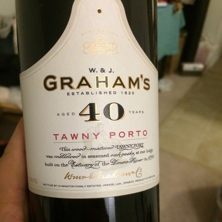 W. & J. Graham's 40 Year Tawny Port Blend NV