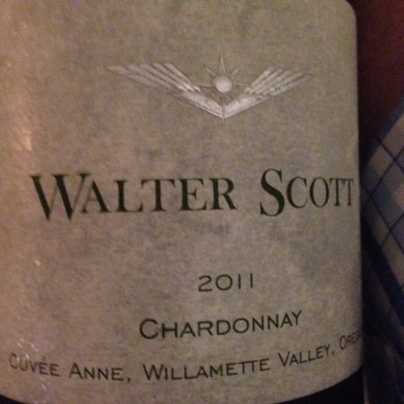 Walter Scott Cuvée Anne Willamette Valley Chardonnay 2015