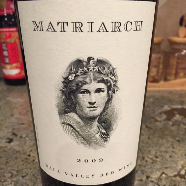 Matriarch Napa Valley Red Bordeaux Blend 2009