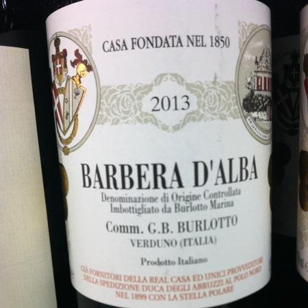 Comm. G.B. Burlotto Barbera d'Alba 2015