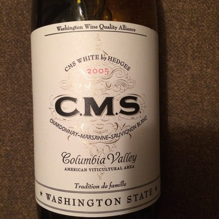 Hedges Family Estate CMS White Blend 2015