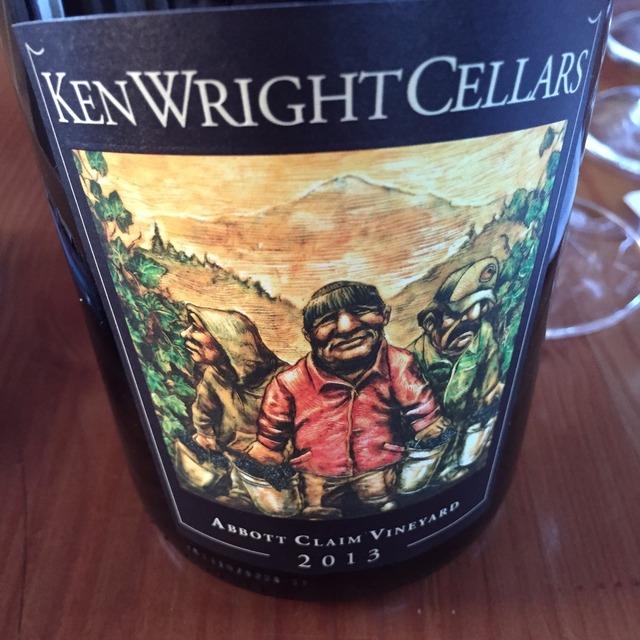 Abbott Claim Vineyard Pinot Noir 2013