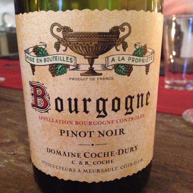 Bourgogne Pinot Noir 2013