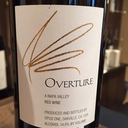 Opus One Overture Napa Valley Red Bordeaux Blend NV