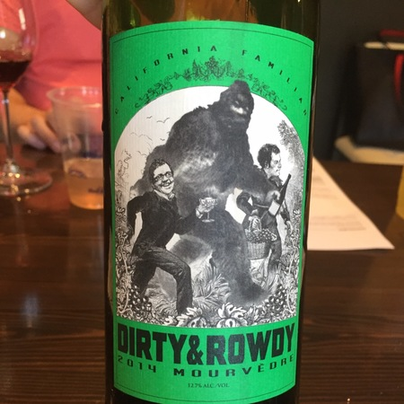 Dirty & Rowdy Familiar California Mourvedre 2016