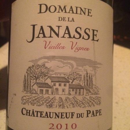 Domaine de la Janasse Vieilles Vignes Châteauneuf-du-Pape Red Rhone Blend 2010