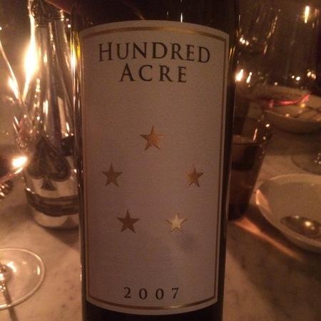 Hundred Acre Vineyard Deep Time Cabernet Sauvignon 2007