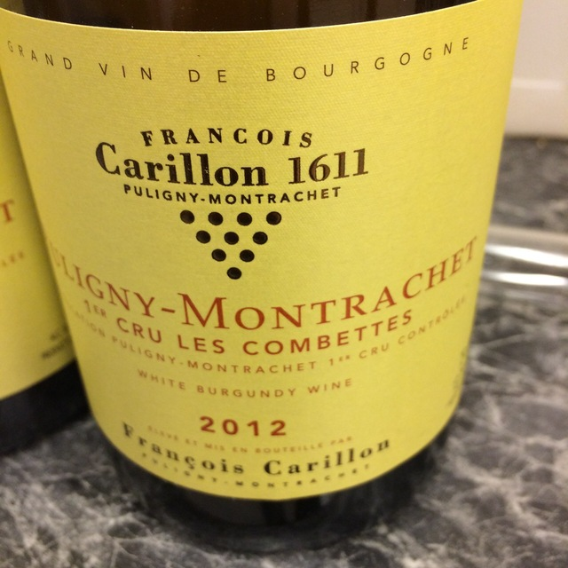 Les Combettes Puligny-Montrachet 1er Cru Chardonnay 2012