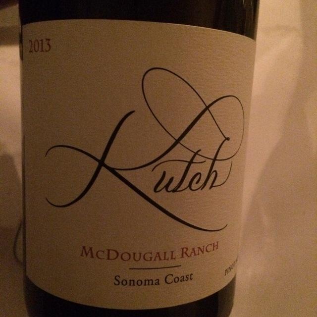 McDougall Ranch Pinot Noir 2013