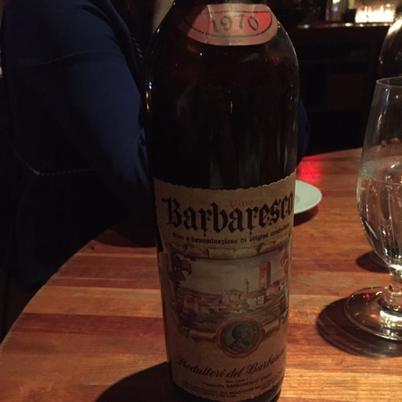 Produttori del Barbaresco Barbaresco Nebbiolo 1970