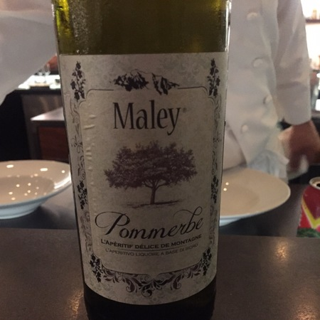 Maley Pommerbe l'aperitif Delice de Montagne Cidre  NV