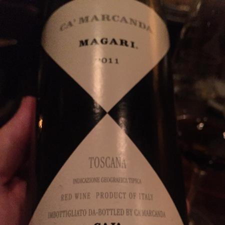 Gaja Ca' Marcanda Magari Toscana Sangiovese Blend 2014