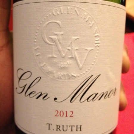 Glen Manor Vineyards T. Ruth Merlot Blend 2013