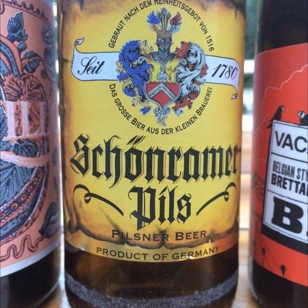 Private Landbrauerei Schönram Schönramer Pils Pilsner Beer NV