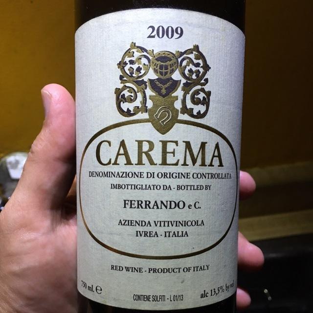 Etichetta Bianca (White Label) Carema Nebbiolo 2011