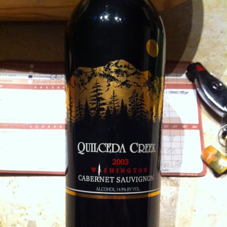 Quilceda Creek Columbia Valley Cabernet Sauvignon 2003