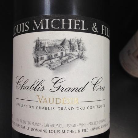 Domaine Louis Michel Vaudésir Chablis Grand Cru Chardonnay 2014
