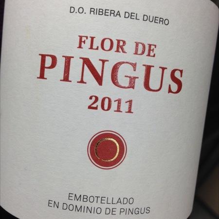 Dominio de Pingus Flor de Pingus Ribera del Duero Tempranillo 2011