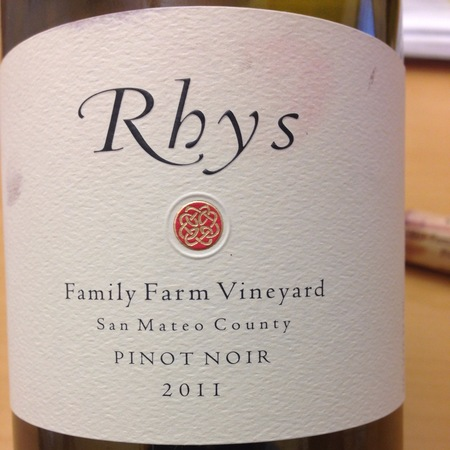 Rhys Vineyards Family Farm Vineyard Pinot Noir 2011