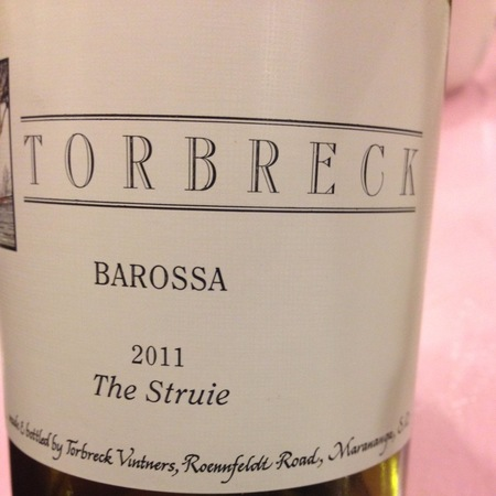 Torbreck Vintners The Struie Barossa Valley Shiraz 2011