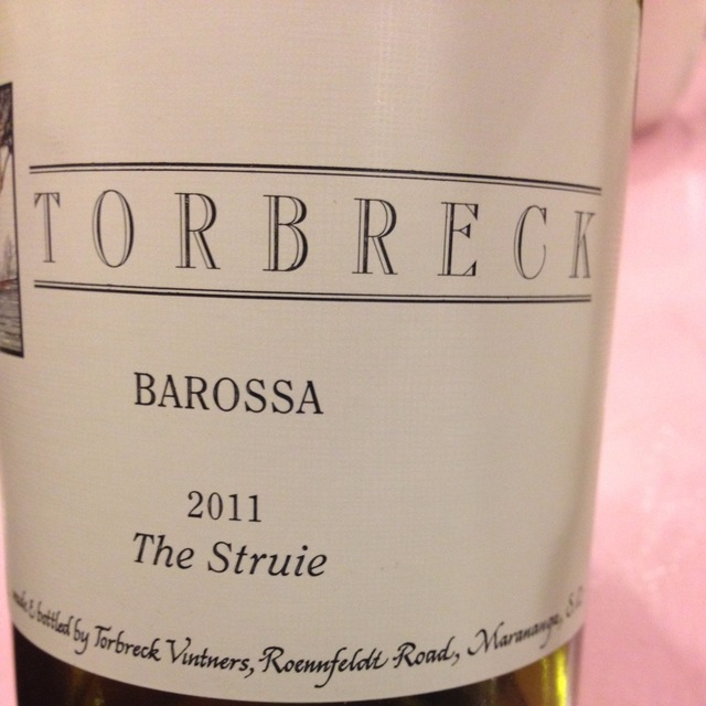 The Struie Barossa Valley Shiraz 2011