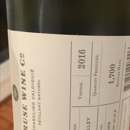 Cruse Wine Co. Deming Sparkling Valdiguié 2016