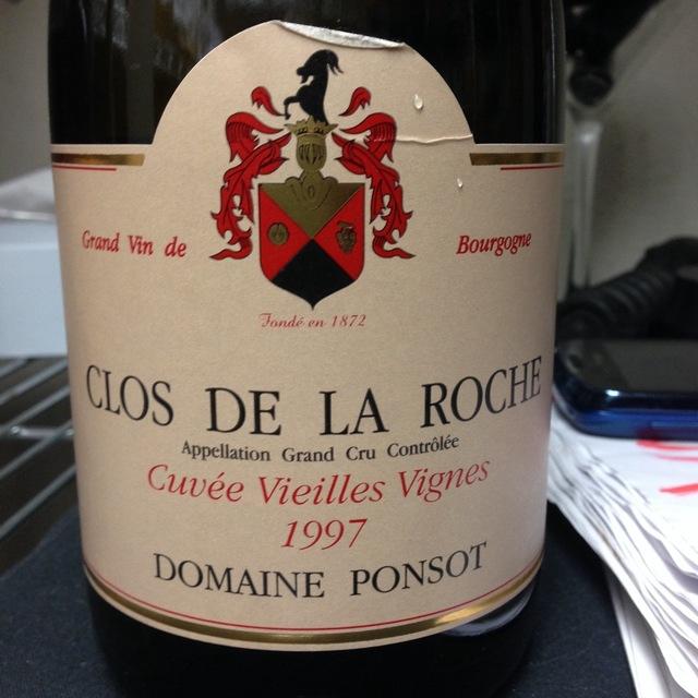 Cuvée Vieilles Vignes Clos de la Roche Grand Cru Pinot Noir 1997
