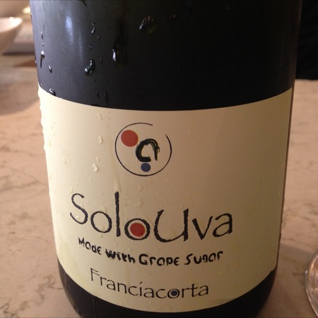 SoloUva Franciacorta Chardonnay NV