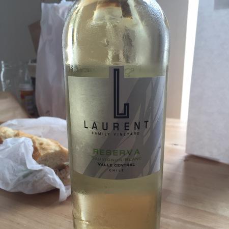 Laurent Family Vineyard Reserva Central Valley Sauvignon Blanc 2015