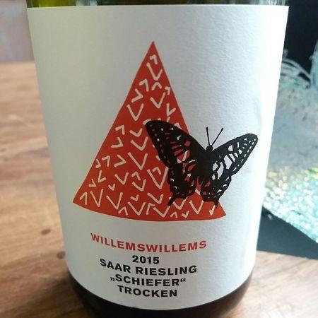 Willemswillems Schiefer Trocken Riesling 2015