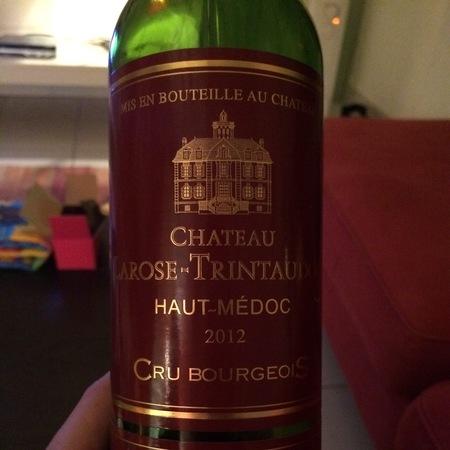 Château Larose-Trintaudon Haut-Médoc Red Bordeaux Blend 2012