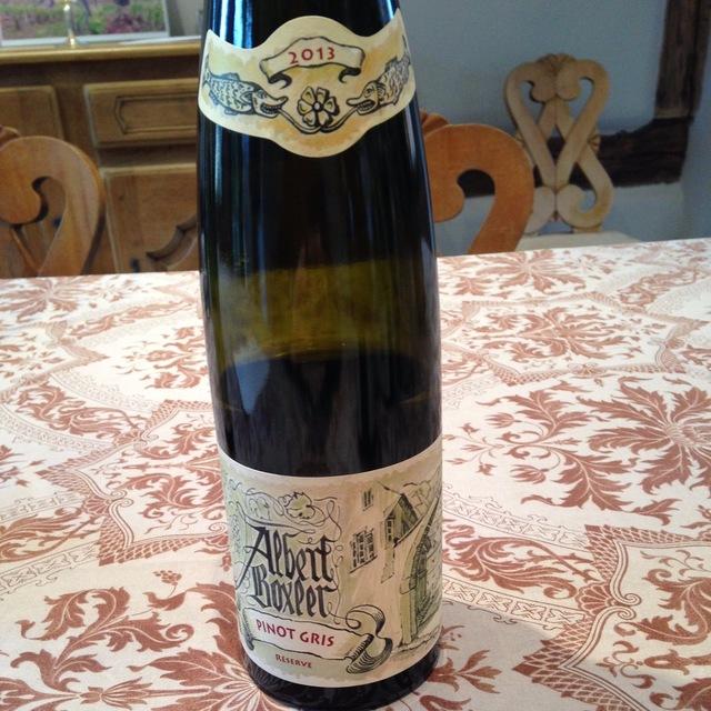Réserve Alsace Pinot Gris 2013