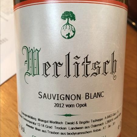 Ewald Tscheppe (Weingut Werlitsch) Vom Opok Sauvignon Blanc 2014