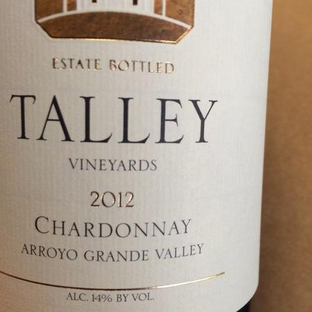 Talley Vineyards Estate Bottled Arroyo Grande Valley Chardonnay 2012