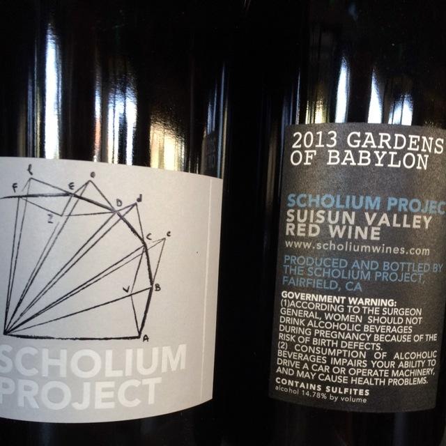 Gardens of Babylon Suisun Valley Red Blend 2013