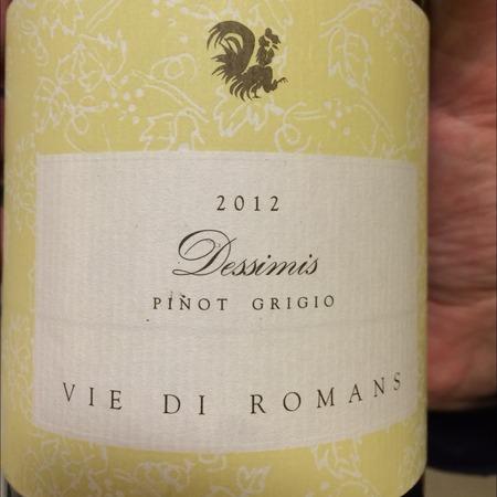Vie di Romans Dessimis Pinot Grigio 2014