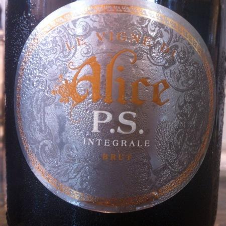 Le Vigne di Alice P.S. Integrale Brut Prosecco  2012