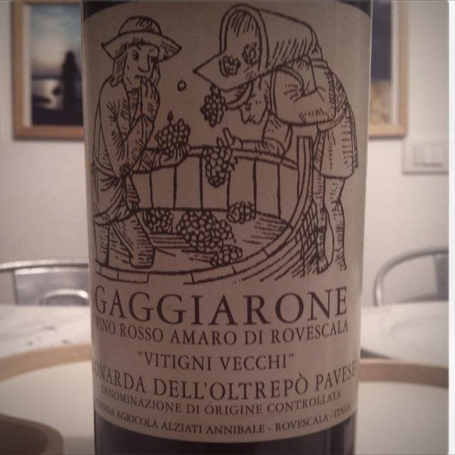 Gaggiarone Vino Rosso Amaro di Rovescala Vitigni Vecchi Bonarda NV