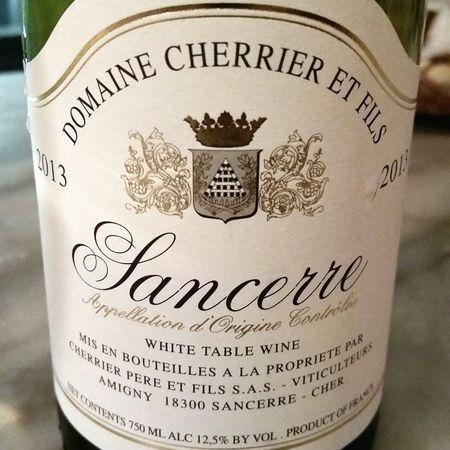 Domaine Cherrier Pere et Fils Sancerre Sauvignon Blanc 2016