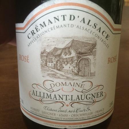 Domaine Allimant-Laugner Crémant d'Alsace Rosé Pinot Noir